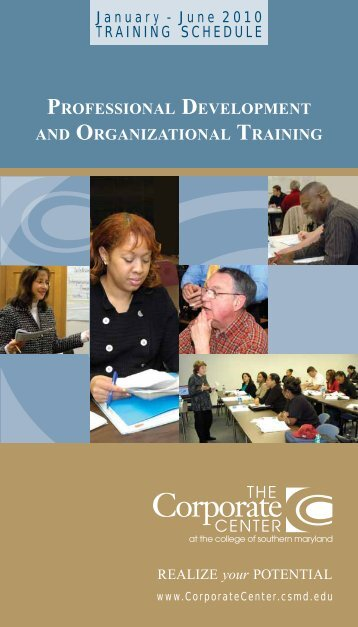 professional development and organizational training