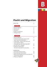 Flucht und Migration - Bunt statt braun