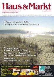 Winterzauber auf Sylt: - CO2-Sparhaus