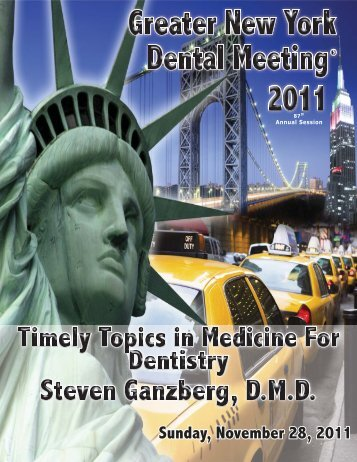 Sunday, November 28, 2011 - Greater New York Dental Meeting