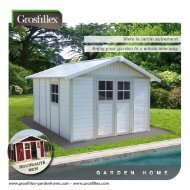 brochure - Grosfillex Garden Home