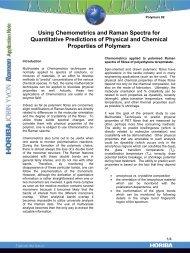 Using Chemometrics and Raman Spectra for ... - Intercovamex