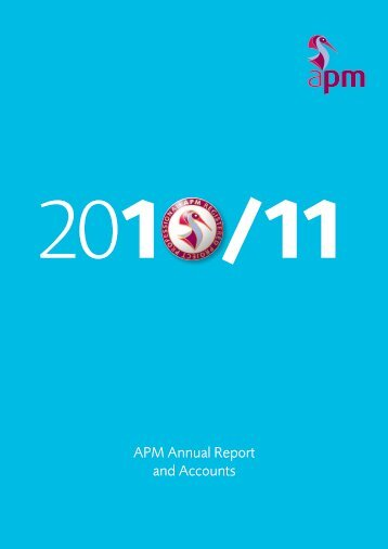 APM Annual Report and Accounts - Association for Project ...