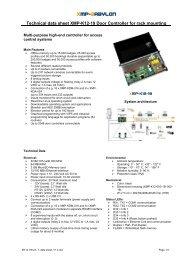 XMP-K12 19 - AUTEC Gesellschaft für Automationstechnik mbH