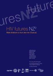 HIV futures NZ2 - New Zealand Aids Foundation