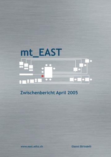 Zwischenbericht April 2005 - mt_east