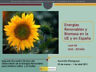 biomasa - Observatory for Renewable Energy in Latin America and