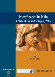 Download sector_report1.pdf - Microfinance and Development ...