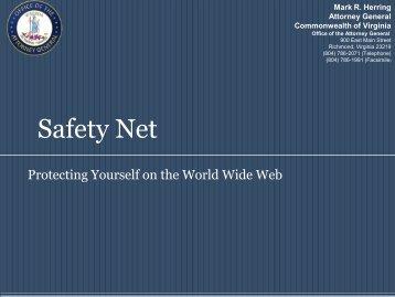 SafetyNet (High School) - Virginia Attorney General ...