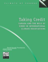 Canada and the Role of Sinks in International Climate Negotiations ...