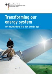 Transforming our energy system - The foundations of a new age - BMU