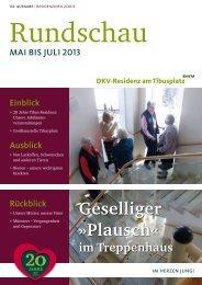 Ausgabe Mai 2013 - DKV-Residenz am Tibusplatz