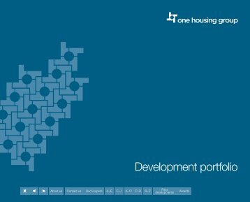 our development portfolio - One Housing Group