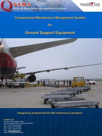 Q-GEMS Maintenance Management Solution - OnGround
