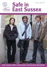 East Sussex Safer Communities Partnership Newsletter