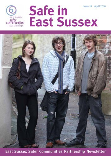 East Sussex Safer Communities Partnership Newsletter