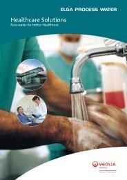 Healthcare Solutions - Elga Process Water