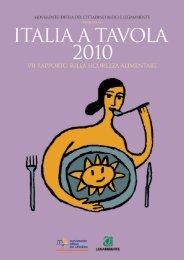 Italia a tavola 2010 - Legambiente