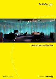 GEBÄUDEAUTOMATION - Elektro Burkhalter AG
