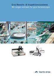 Ersa Rework- & Inspektionssysteme Wir sorgen ... - ERSA-Shop