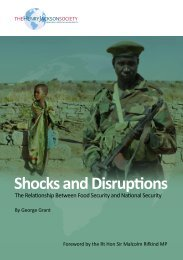 'Shocks and Disruptions - The Relationship Between Food Security ...