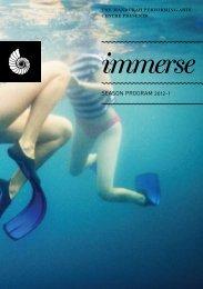 immerse - Mandurah Performing Arts Centre