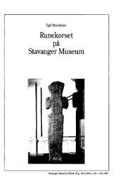 Runekorset Stavanger Museum - Museum Stavanger