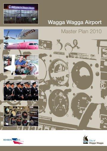 Wagga Wagga Airport Master Plan 2010 - Business Wagga Wagga