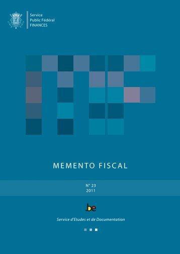 Memento fiscal 2011 - Pim.be