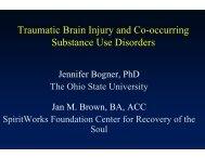 Traumatic Brain Injury - Women, Children and Families