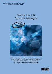 Printer Cost & Security Manager - Ricoh Photocopiers