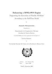 Enhancing a BPEL4WS Engine - DVS - Technische Universität ...