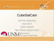 CubeSatCam - Cosmiacpubs.org
