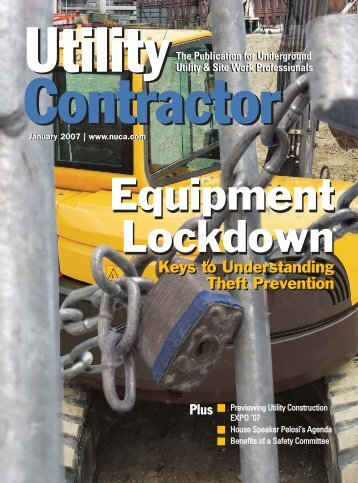 View Full January PDF Issue - Utility Contractor Magazine