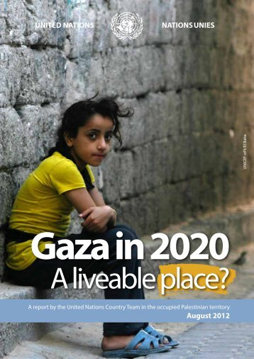Gaza in 2020: A liveable place? - Unrwa