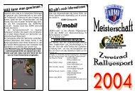 Termine 2004 - Blatt 1 und 2 (pdf - 238kb) - Zweirad-Rallye