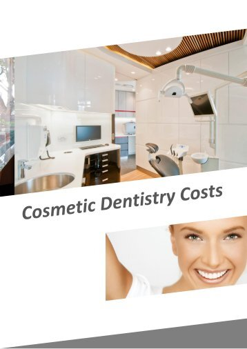 Cosmetic Dentistry Costs