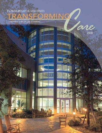 transforming - Christine E. Lynn College of Nursing - Florida Atlantic ...
