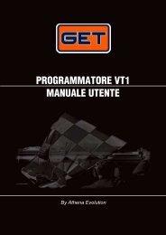 PROGRAMMATORE VT1 MANUALE UTENTE - GET by Athena
