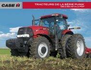 TRACTEURS DE LA SÉRIE PUMAMC - Centre Agricole.ca
