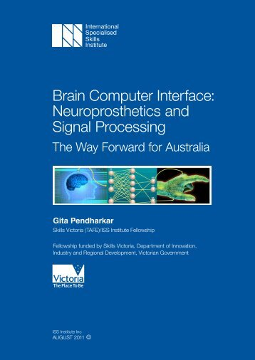 Neuroprosthetics and Signal Processing - International Specialised ...