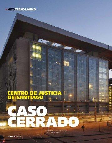 CENTRO DE JUSTICIA DE SANTIAGO - Biblioteca