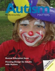 AutismMATTERS - Autism Ontario