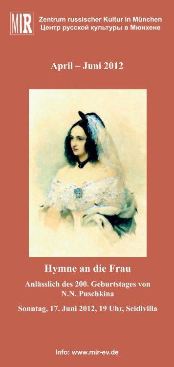Hymne an die Frau - Mir-ev.de