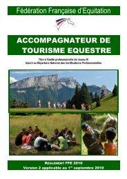 Télécharger le règlement 2010 - Comité régional d'équitation de ...