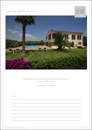 Finca near Cala D'or - Ref. 01-39 - Luxury Holidayhomes on Mallorca