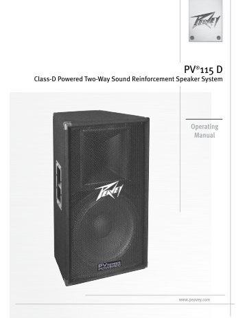 PV®115 D - Peavey