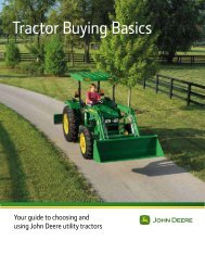 Tractor Buying Basics