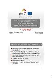 Projekta iesnieguma formas aizpildīšana 1 - Latvia and Lithuania