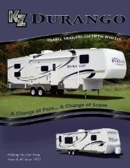 Click Here For A Brochure - Jerry's Trailers & Campers